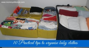 10 Tips To Organize Baby Clothes Without Breaking a Sweat
