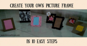 DIY Photo Frame with Cardboard – Home Decor Simplified