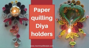 Diwali Lamp Holders – Paper Quilling DIY