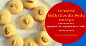 Instant Milk Peda Recipe, How to Make Doodh Peda
