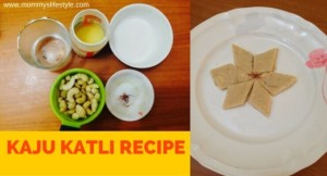 Kaju Katli Recipe, How to Make Kaju Barfi
