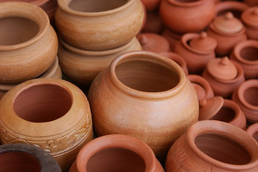 clay vessels
